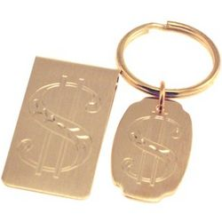 Money Clip and Key Chain Gift Set
