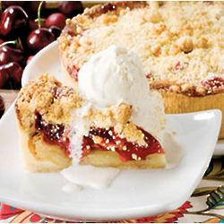 Cherry Danish Bread Pudding