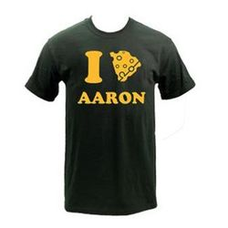 I Cheese Aaron Rodgers Adult T-Shirt