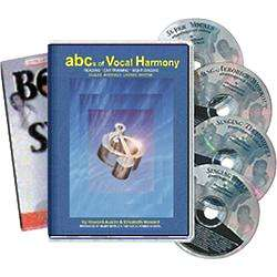 Born To Sing ABCs Of Vocal Harmony Book and CDs
