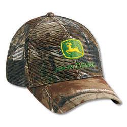 John Deere Realtree Hardwoods Full Mesh Cap
