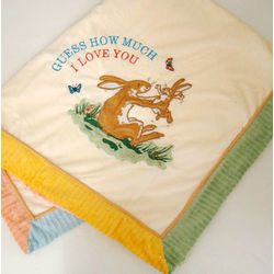 Guess How Much I Love You Personalized Baby Blanket
