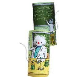 Mad Scientist Cat Toy
