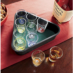 Pool Table Shot Glass Drinking Game