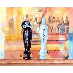 On Tap II Personalzied Art Print