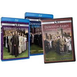 Downton Abbey Seasons 1, 2 and 3 BluRay DVDs