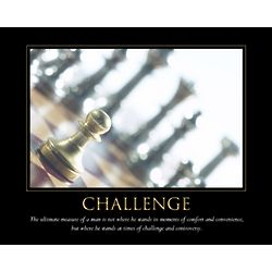 Challenge Personalized Art Print