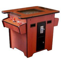 Arcade Classics Cherry Cocktail Table Arcade Machine