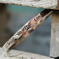 Trust In The Lord Bangle