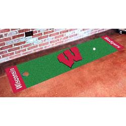 Wisconsin Badgers Putting Green Mat