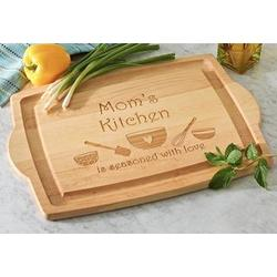 Personalized Seasoned with Love Oversized Wood Carving Board