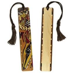 Feral Cat Bookmark with Tassel
