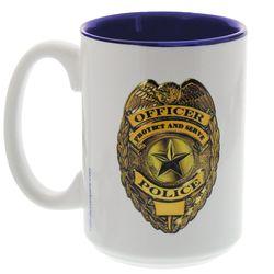 God Bless Our Police Coffee Mug