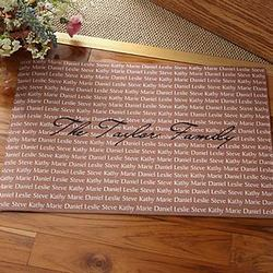 Family Is Forever© Personalized Doormat