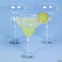 Personalized Margarita Glasses