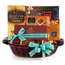 Birthday Godiva Basket