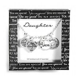 You Are Special Daughter Necklace