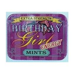 Birthday Girl Over the Hill Energy Mints