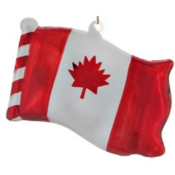 Canada Flag Christmas Ornament