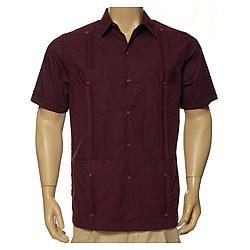 Men's Guayabera Classic Short Sleeve Shirt