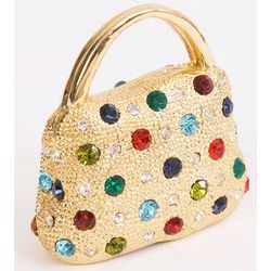 Jeweled Handbag Trinket Box