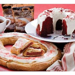 Valentine Kringle and Cake Gift Assortment