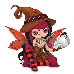 Magic That Binds Witch Figurine