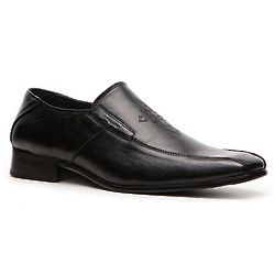 Leather Embellished Loafer
