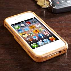 Handcrafted Bamboo iPhone Case