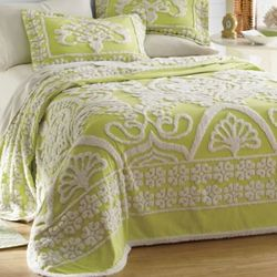 Hillcrest Chenille Twin Bedspread