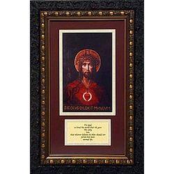 For God So Loved the World 14x18 Double Mat Framed Print