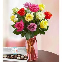 Beautiful Bounty Assorted Roses
