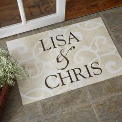 Couple's Sentiments of the Home Doormat