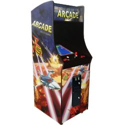 Arcade Classics Vertical Upright Arcade Machine