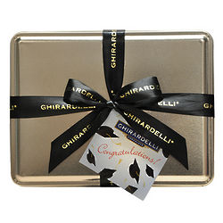 Graduation 50 Chocolate Squares Gift Tin