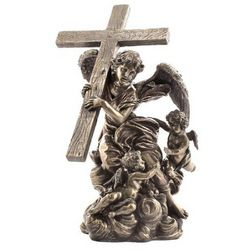 Angel Carrying Cross Statue