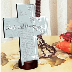 Personalized Marriage Prayer Cross