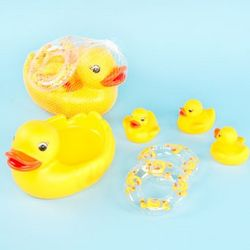 Baby Bath Duckie Set