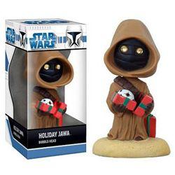 Star Wars Holiday Jawa Bobblehead
