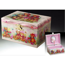 Lovely Bear Children's Musical Jewelry Box
