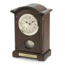 Wood Table Dalton Clock