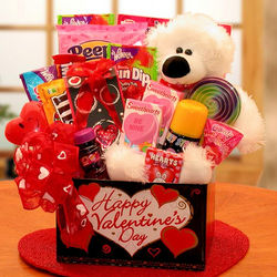 Beary Huggable Valentine's Day Box for Kids