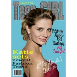 Teen Girl Magazine Custom Photo Art Print