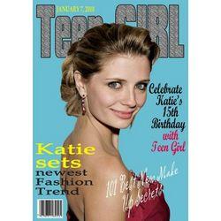 Teen Girl Magazine Custom Photo Art Print