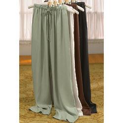 Silk Drawstring Pant