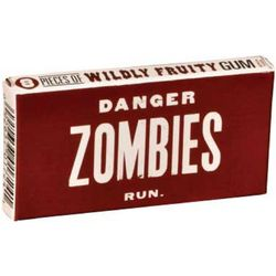 Danger! Zombies Gum