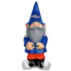 Boise State Broncos Sculpted Garden Gnome