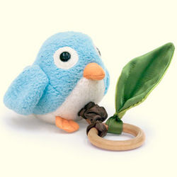 Crawling Critter Birdie Teething Toy