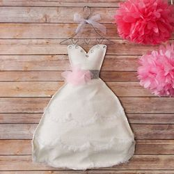 Bridal Shower Wedding Dress Door Hanger