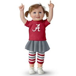 Bama Girls Have More Fun Child Doll